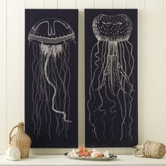 Lovely jellyfish prints.  I'll take one of each, please.