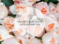 Favorite Posts Over the Past 7 Years of Blogging