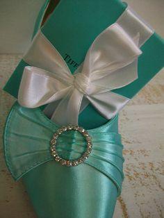 Tiffany Blue Wedding Shoes Something Blue Bridal Shoes by Parisxox, $112.00