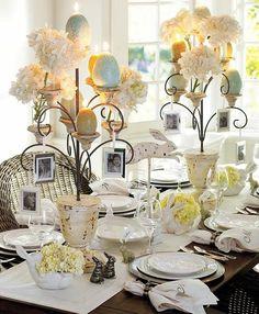 Belle déco table de Pâques: nous vous proposons 50 idées d'aménagement de la table pour que cette fête soit une réussite, entre amis ou en famille.