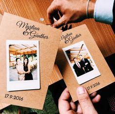 DIY Hochzeitsgeschenk mit Polaroid (Instax Mini 8)