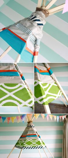 no sew teepee | the handmade home