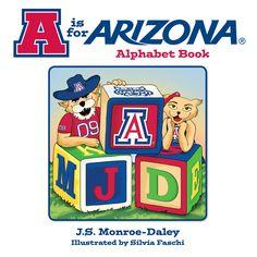 Children's Alphabet Book--- for all Arizona Wildcat Fans!
