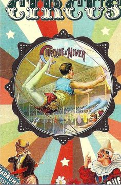 Vintage Circus Poster. Acrobat. | Flickr - Photo Sharing!