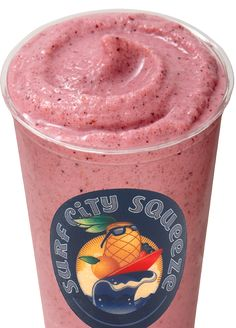 Copycat recipe for Surf City Squeeze's Strawberry Banana smoothie  1 cup milk 1/4 cup yogurt 3 tablespoons sugar 1 banana 3-4 strawberries