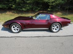 1973 Chevrolet Corvette Stingray - Love that Candy Apple Red paint!