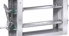 New Industrial High Temperature Control Dampers From Greenheck #Facility #Management