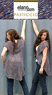 Ravelry: Pasticcio Circular Vest pattern by Shelley Mackie