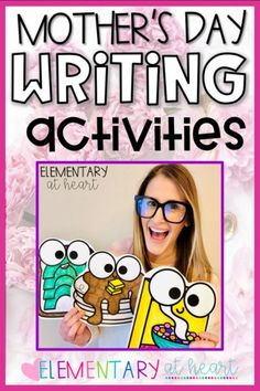Looking for the CUTEST gift idea for Mother's Day? Check out these Mother's Day Writing Activities! They are brunch themed and deliciously adorable! #teacherspayteachers #iteachtoo #teachersfollowteachers #firstgradeteacher #secondgradeteacher #thirdgradeteacher Second Grade Teacher, My Teacher, First Grade, Elementary Teacher, Writing Activities, Sight Words, Word Work, Summer Activities, Teacher Resources