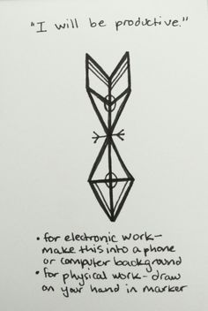 Sigil for productivity. This will be digitized later on. Requested by aeronsrunestones. – Rook from the beach