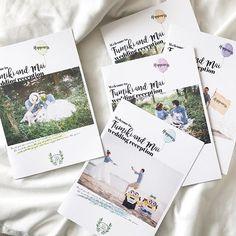 ご紹介が遅くなりましたが、9月挙式のお客様のプロフィールブック 当日の会場を彩るバルーンにちなんで、表紙も5種類に 花嫁様が手作りされた#ミニオン が可愛いです #wedding #tablesetting #プロフィールブック #ペーパーアイテム #結婚式 #プレ花嫁 Wedding Invitation Cards, Wedding Cards, Japanese Wedding, Thanks Card, Wedding Book, Print Design, Reception, Paper, Inspiration