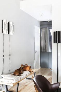 Scandinavian interior design Scandinavian Interior Design, Eames, Oversized Mirror, Furniture, Halle, Interior Inspiration, Home Decor, Lisbon, Decoration Home