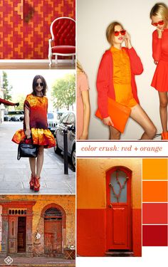 Color Crush:  Red + Orange  Kendra Scott blog