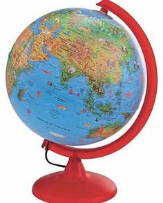Early Learning Centre Illuminated Globe Mains-operated light up globe with friendly illustrations. Size H33. W26cm. For ages 4 years and over. EAN: 5050048026123. WARNING(S): Not suitable for children under 3 years old. (Barcode EAN=5050048 http://www.comparestoreprices.co.uk/science-and-discovery-toys/early-learning-centre-illuminated-globe.asp