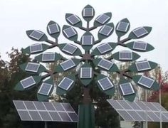 Towering Solar Trees - Tourism London Unveils the World's Tallest Solar Tree (GALLERY)