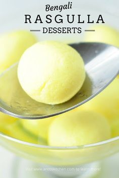 Traditional rasgulla a soft and spongy indian milk dessert in 30 minutes, , Sweet Dishes Recipes, Sweets Recipes, Easy Desserts, Pudding Desserts, Coffee Recipes, Indian Dessert Recipes, Indian Sweets, Indian Snacks, Indian Recipes