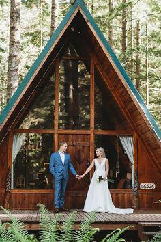 Real Weddings Cabin Venue |  The Groomsman Suit #weddings #groom