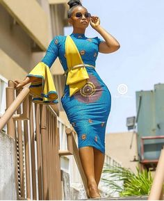 The complete pictures of latest ankara short gown styles of 2018 you've been searching for. These short ankara gown styles of 2018 are beautiful Latest African Fashion Dresses, African Dresses For Women, African Print Dresses, African Print Fashion, African Attire, Ankara Fashion, Africa Fashion, African Women, African Prints