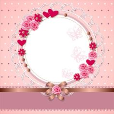 Pink Wallpaper, Flower Wallpaper, Muslim Wedding Invitations, Baby Girl Scrapbook, Baby Icon, Glitter Invitations, Floral Logo, Borders And Frames, Chocolate Decorations