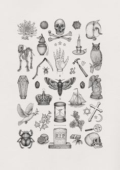 'Das Allerletzte' by Brad Jay #illustration #drawing #collection