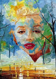 Marilyn Monroe Art ♢♢♢Dunway Enterprises - http://dunway.com/