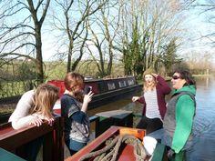 A Hen Weekend on Wandering Duck: The Canal Boat Experience. www.wanderingduck.co.uk