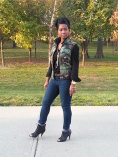 """NO LIMIT ~ """"Sweenee Style"""" Source by nesteshia outfits for women Camo Fashion, Love Fashion, Plus Size Fashion, Fashion Looks, Womens Fashion, Camouflage Fashion, Fashion Ideas, Fashion Inspiration, Camo Outfits"""
