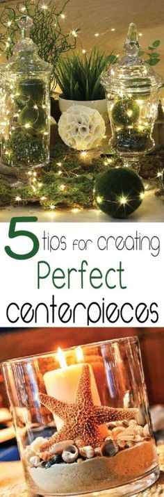 Holidays, weddings, parties, they all need centerpieces, learn how to do it the right way. Click to learn the 5 Dos and Don't to creating centerpieces.