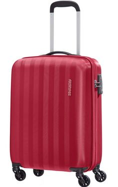 American Tourister by Samsonite. Prismo II 55 cm hard kabin koffert Rød fra  Samsonite Small · Small CaseAmericanTrolley BagsHard ... 330eef8aa1c72