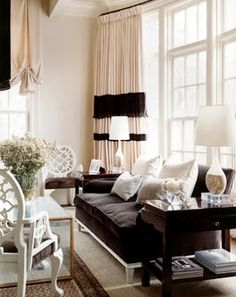 Small Space Inspiration From House Beautiful | Hollywood Regency, Elegant Living  Room And Regency Part 18