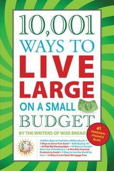 Budget ideas from the personal finance blog Wise Bread. Personal Finance Blogs, #personalfinance