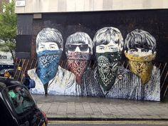 Mr. Brainwash New Murals In London StreetArtNews
