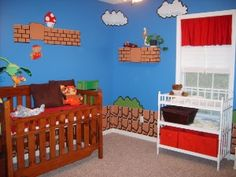 im just in awe. oh future little one to someday burst forth from my tummy, behold your future bedroom.