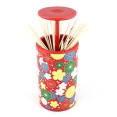 Aliexpress.com : Buy Toothpick Box Toothpick Holder Colorful Flower Pattern Red from Reliable Toothpick Box suppliers on Chinatownmart (HongKong) Limited