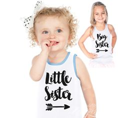 Sibling Sister / Matching / Announcement - Iron-on Tshirt Transfer (Shirt) / Children Party Ideas / Children Party Themes / Kid Party Ideas / DIY Party Ideas / Birthday Shirt / Birthday Shirt Ideas / Birthday Shirt DIY / Tshirt DIY / Tshirt Transfer DIY Ideas / Birthday Shirt For Girls