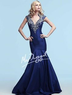 Royal Purple Mermaid Dress | Mac Duggal 82230Y