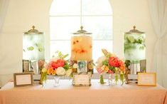 Your Signature Cocktails Style Guide | Self-Serve Wedding Drink Station