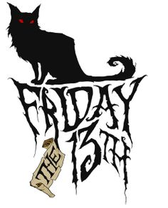 friday the 13th sagittarius lucky 13 pinterest rh pinterest com  friday the 13th free clipart