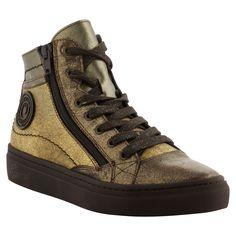 Pataugas FW16 Femme - Sneakers YOANNA en cuir métallisé or - A shopper ici >> http://www.pataugas.com/yoanna-ms-f4b-sneakers-cuir-metallise/#article=25982