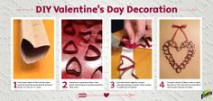 Bounty Winter weather got you down (and cooped up inside)? Here's a fun Valentine's Day DIY project you and the kids will BOTH enjoy! Diy Valentine's Day Decorations, Valentines Day Decorations, Valentines Diy, Diy Craft Projects, Diy Crafts, Bounty Paper Towels, Valentine's Day Diy, Red Glitter, Project Yourself