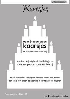 Versje Birthday Wishes, Happy Birthday, Dutch Words, School Themes, School Ideas, School Parties, Too Cool For School, Creative Kids, Picture Quotes