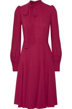 Gucci | Silk-crepe dress | NET-A-PORTER.COM