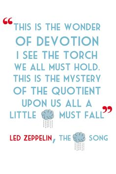 Led Zeppelin Thank You Lyrics Guitar Heart 11-36 Inches Unframed Poster