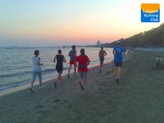 Limassol Running Club: 10k run on the morning of January 1st to start the 2014 the right way.