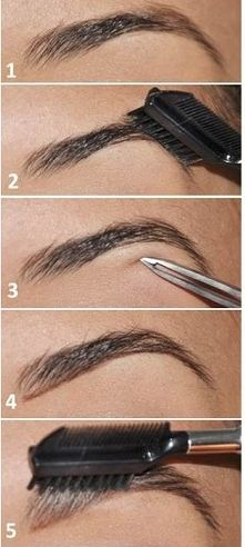 learn how to wax eyebrows