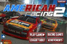 Una carrera Americana esta apunto de empezar, tienes que conducir un auto de carreras y demostrar que eres el mejor en estas carreras de autos, trata la manera de pasar uno por uno hasta llegar de primer lugar.