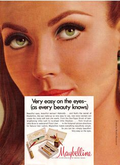 Image detail for -Maybelline ad from 1960 - Found in Mom's Basement
