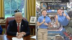 #Trump #wants astronauts on #Mars -- in first term!