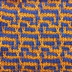 Dragons knitting stitches