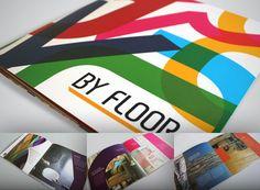 Catálogo para a By Floor. Objetivo: mostrar o mix de produtos da marca.